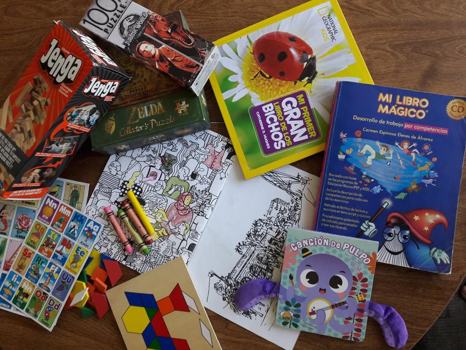 juegos y libros